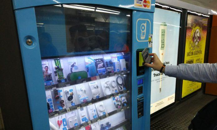 Pagar con el móvil en vending